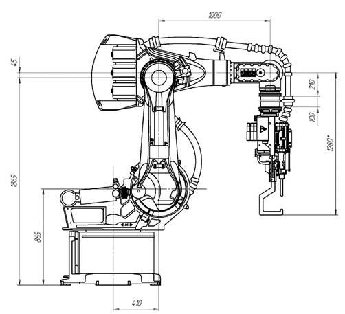 Манипулятор KR 125/3 (KUKA)